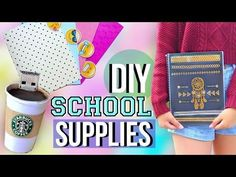 DIY Back to School Supplies and Organization   JENerationDIY - YouTube Back to School tips