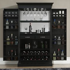 The party has arrived! Beautiful cabinetry with every bar service function desirable. You know you love pouring like a pro.