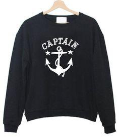 captain anchor sweatshirt