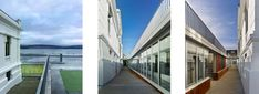 Expansion of a modernist building for classrooms. Seaside. Heritage. Architecture. Díaz & Díaz. Galicia