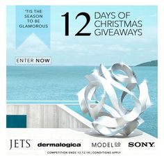 What better way to kick-start summer than with 12 Days of Christmas giveaways! We've partnered with some amazing brands to keep you looking glamorous this festive season. Visit us on FaceBook to enter now #JETSswimwear Xx