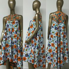 This is an unlined flare dress with woven yoke, low back, and inside pockets. INCLUDED: • One dress DETAILS: • African Print. • Care Instructions: Dry Clean Only. Cool iron on yoke. Visit my shop: https://www.etsy.com/shop/NanayahStudio  DRESS SIZES * US 2 – Bust 33 - Waist 24 inches - Hips 34-35 inches * US 4 -- Bust 34 - Waist 25 inches - Hips 36-37 inches * US 6 -- Bust 35 - Waist 26 inches - Hips 38 inches * US 8 -- Bust 36 - Waist 28 inches - Hips 39 inches * US 10 -- Bust 37 - Waist…