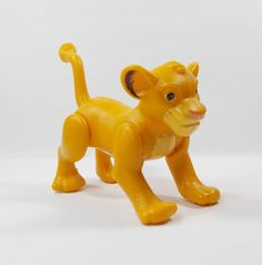 Lion King - Simba - Toy Figure - Disney - Cake Topper Simba Toys, Disney Cake Toppers, Lion King Simba, Rubber Duck, Ebay