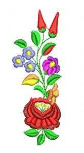 Kalocsai hímzésminta 306-15 Hungarian Embroidery, Folk Embroidery, Learn Embroidery, Vintage Embroidery, Embroidery Patterns, Embroidery Stitches Tutorial, Embroidery Techniques, Crochet Hook Set, Arte Popular