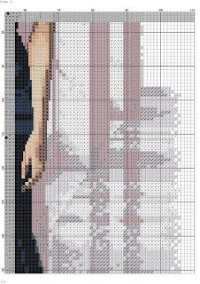 los gráficos del gato: DAMA ELEGANTE Elegant Woman, Persona, Cross Stitch Patterns, Libra, Beautiful, Stitching, Graphics, People, Punto Croce
