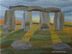 Stonehenge - gestrickt KlugeStrickArt