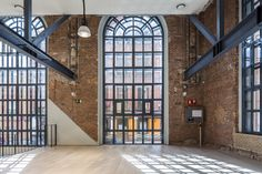 google campus in madrid sets up shop in former battery factory renovated by jump studios 03