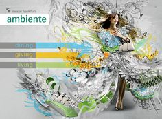 AMBIENTE PITCH by Christos Magganas, via Behance