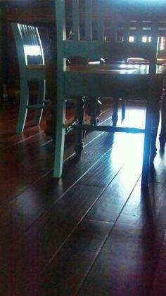 Bella Cera hickory floors...love them!