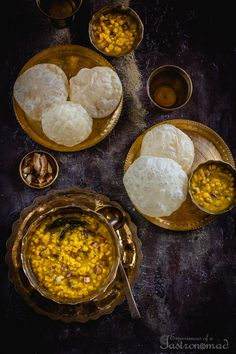 A bhojonbilashi Bengali needs nothing more than luchi, aloor dom and chholar dal to sport that sublime smile of contentment. Do you belong… Bangladeshi Food, Bengali Food, Sweets Photography, Asian Photography, Dal Recipe, Desi Food, Indian Food Recipes, Indian Foods, Creative Food