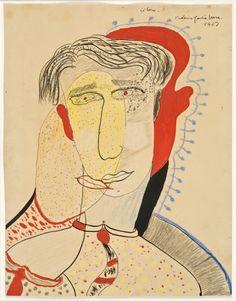 Federico García Lorca, El Beso (1927).
