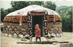 Кот-Турс - Юрты. Кочевые домики Средней Азии