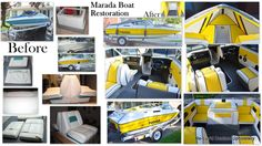 reluvd Marada boat restoration. This was our own boat and I don't think I will ever do another one! This was way too much work for the amount of use we got out of it before we sold it. It sure did turn a lot of heads though when we had the time to take it out on the water.