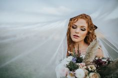 Romantic wedding makeup with boho chic bouquet by Kelsey Prater Photography | The Pink Bride®️️ www.thepinkbride.com
