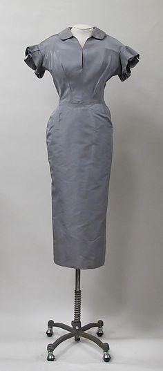 Charles James, 1953 Women's vintage fashion history historical designer clothing dress