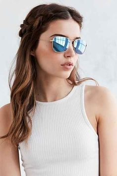 Ray-Ban Caravan Flash Aviator Sunglasses