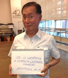 George Takei responds to anti-gay marriage protestors with humor