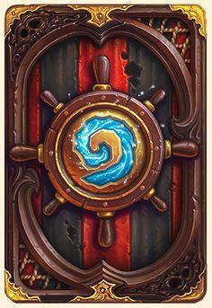 Dos de carte Hearthstone - Pirate - Saison 6 - septembre 2014