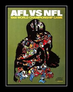 In Super Bowl II on January 14, 1968, the Green Bay Packers defeated the Oakland (now Las Vegas) Raiders 33-14, behind the stellar play of MVP Bart Starr. Here's a poster featuring the cover art of the game day program Details High-quality photographic print Printed on heavyweight satin photo paper Ready to frame Great gift idea Made in the U.S.A. Available in 3 sizes Choice of black or white border Buy with confidence. I stand behind everything I sell. If you are not satisfied, please contact