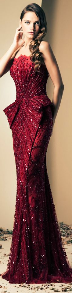 Ziad Nakad Couture | Fall/Winter  .https://www.pinterest.com/FashionHermans/