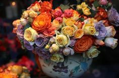 Roses, Hotel Costes, Paris in the Fall: