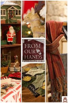 From Our Hands~From Home Antique Show, Fall Weather, Ladder Decor, Folk Art, Hearts, Presents, Wool, Antiques, Painting