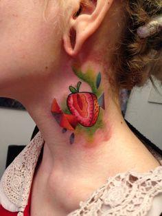 To eat !? Tattoo fruit
