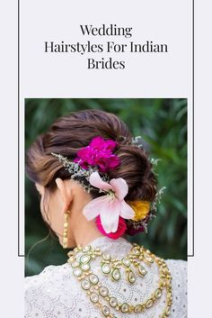 A bride's hair should look perfect on her special day. Indian wedding hairstyles can be very versatile and because we have so many lovely accessories, the hair becomes all the more important. So if you're a bride who wishes to rock her hair and inspire future brides with #hairgoals, here are a few bridal hairstyles that you must try.
