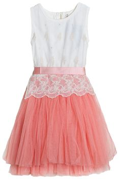 Vintage Prom Girls Dress
