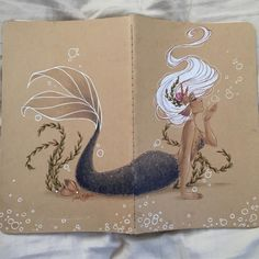 Here's what the whole journal looks like when opened.Check Out the Artist on Instagram