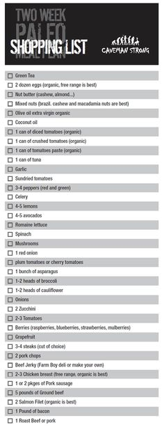 paleo diet shopping list cheat sheet -- just looks like a good grocery list in general of must haves :)