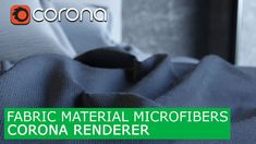 Fabric material with Microfibers Corona Renderer & 3Ds Max | Tutorials f...