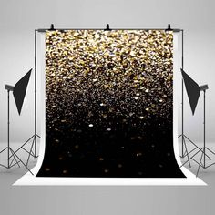 Black Gold Party Golden and Black Glitter Photography Backdrops Wedding Photo Glitter Photography, Photography Backdrops, Wedding Photography, Food Photography, Photo Backdrops, Children Photography, Wedding Photo Background, Photo Booth Background, Backdrop Background
