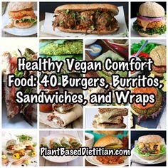 Burgers, Burritos, Sandwiches, and Wraps