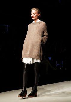 Boheme at Prague Fashion Weekend 2013. Foto: Kamila Písaříková #shoes from #calou #caloustockholm #boots