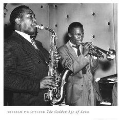 Charlie Parker & Miles Davis