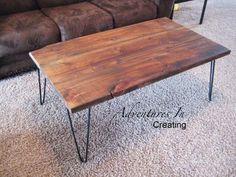 cool hairpin DIY table