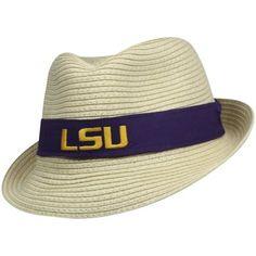 Top of the World LSU Tigers Havana Straw Fedora Hat