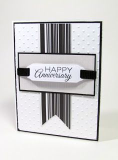 Stamping While They Sleep: Masculine Anniversary Card