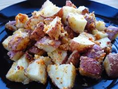 Parmesan Crusted Roasted Red Potatoes