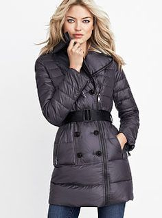 Trench Puffer Coat-this is what I think I want to try this year