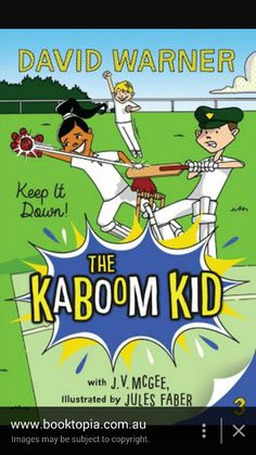 The Kamboom Kid Book 3 From Kmart  $ 9.00