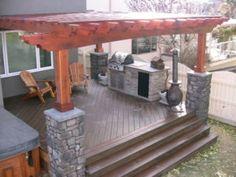Decks, Pergolas, Custom Barbecues and Tree Houses and Sheds - Calgary Skilled trades & Construction Services - Kijiji Calgary Canada.