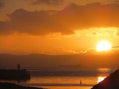 Harbour sunset 2 December 2014