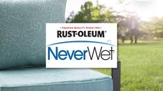 NeverWet Water Resistant Patio Cushions