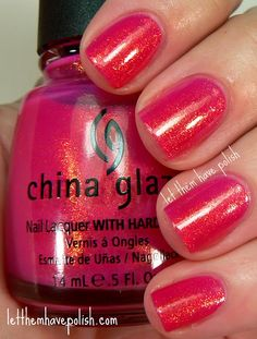 China Glaze Strawberry Fields. Super pretty! One of my favorites.