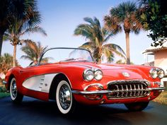 Can't go wrong with a 1959 Corvette..Re-pin Brought to you by agents at #HouseofInsurance in #EugeneOregon for #LowCostInsurance.