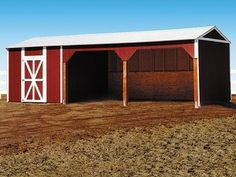Tuff Shed Loafing Shed