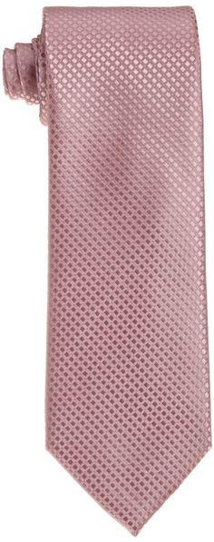Wembley Men's Dimensional Neat Solid Tie