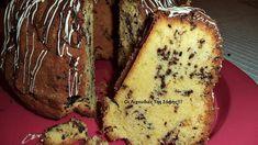 Μαλακό και αφράτο κέικ με κορν φλάουρ Biscuits, Greek Desserts, Banana Bread, Baking, Recipes, Cakes, Food, House, Cooking Recipes